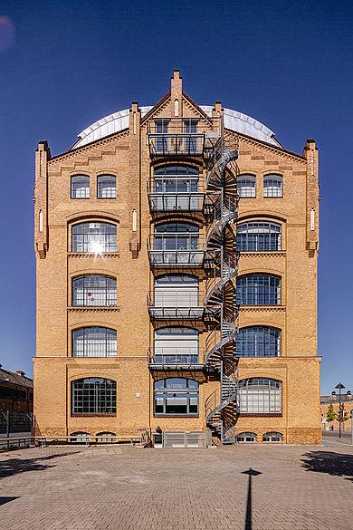 Gebäude mit Seminar- und Laborräumen des Studienganges Bekleidungstechnik©HTW_Berlin
