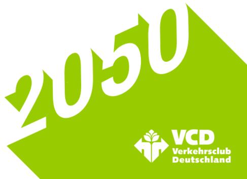 Logo VCD Projekt »2050«©VCD