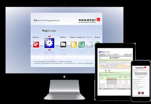 Logo G3plus-Befragungssoftware