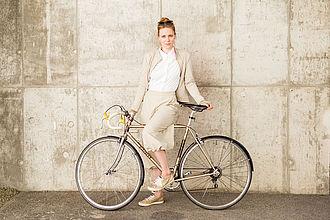 fahrradkompatible Businessbekleidung© HTW Berlin/Camilla Rackelmann